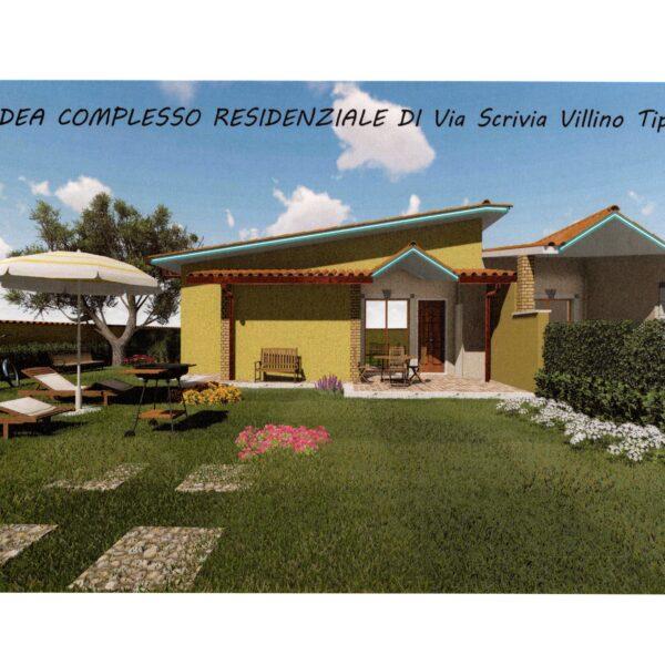 ARDEA-Nuova California-Villini in Complesso Residenziale